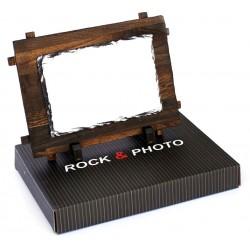 Kamena foto ploča na drvenom okviru 17*12 cm | SM-15