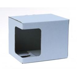 Kartonska kutija za šalice, bijela| KT2